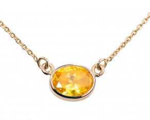 Mynameiscitrine necklace
