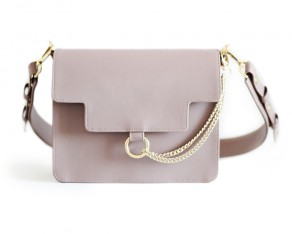 DEVON medium bag taupe