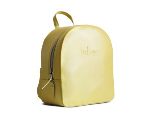 Iubesc 02 backpack yellow side view