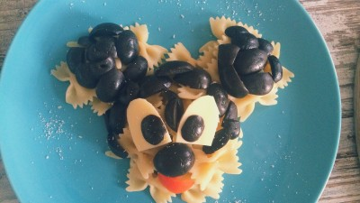 Paste Mickey Mouse