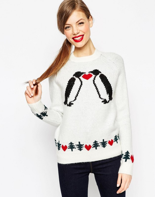 Pulover Love Pinguins